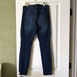Joe's Jeans Jeans - Joe's High-Rise Dark Wash Jean w/ unhemmed leg